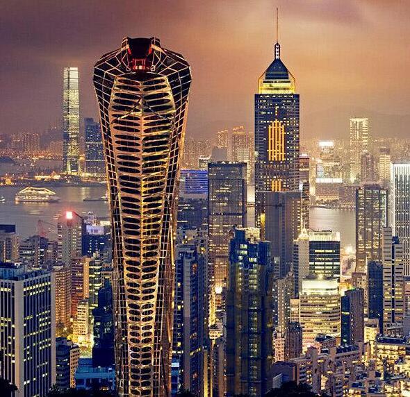 """设计师坚信他的""""亚洲眼镜蛇大楼""""有广阔的商业前景,一定会取得成功."""