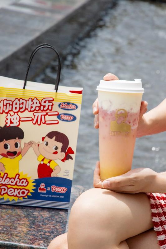 乐乐茶联合不二家特别策划儿童节主题活动