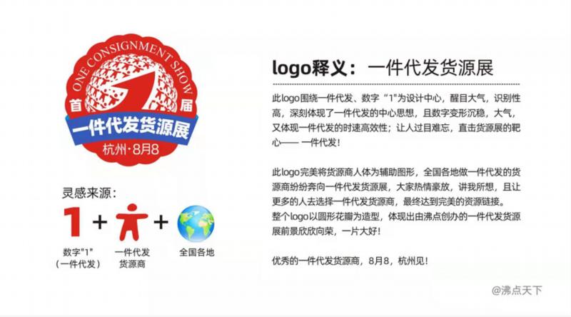 一件代发货源展会logo设想寓意  第1张