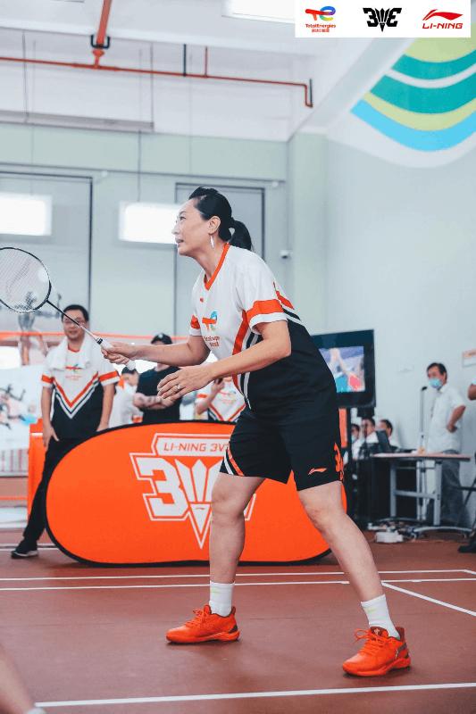 向魔都倡议羽球攻势——2021道达尔能源·李宁李永波杯3V3羽毛球赛上海站开赛  第6张