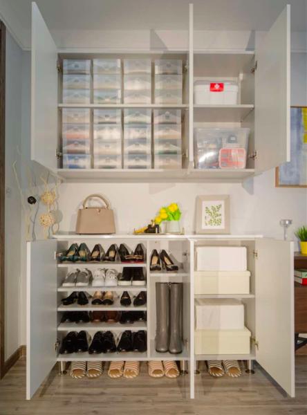 这款产品集中解决了很多客户最重点的需求,小到一个玄关柜的内部结构